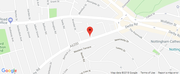 Map Of Uk Nottingham.Fine Dining In The Middle Of Nottingham Alchemilla Restaurant